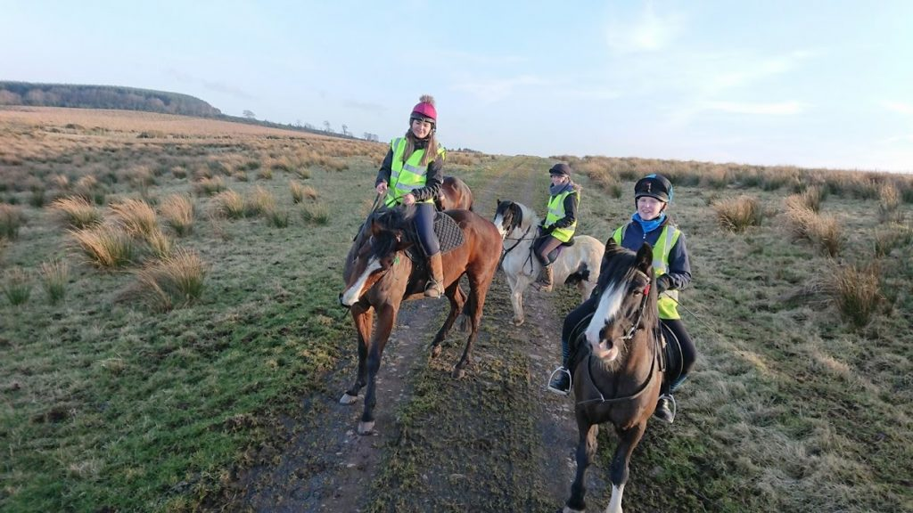 Out for a long hack